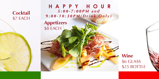 Fresco happy hour